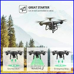 2K GPS FPV RC Drone HS100 with HD Camera Live Video and GPS Return Home Large
