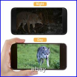 4K Live Video Hunting Camera 4G LTE MMS Trail Scouting Game Wildlife APP +32GB