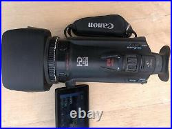 Canon HF G25 Full HD Camcorder + Wide angle Adaptor + live stream HDMI out