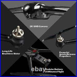Contixo F18 Drone with 2K HD WiFi Camera Live Video Streaming Altitude Hold GPS