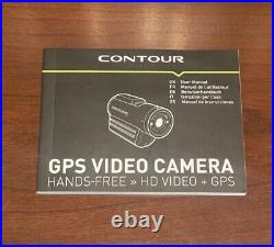 Contour GPS Live Sport Helmet Wide Angle Camera HD 1080p Deluxe Edition