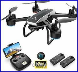 DEERC D50 Drone for Adults with 2K UHD Camera FPV 120° FOV 1080P Live Video