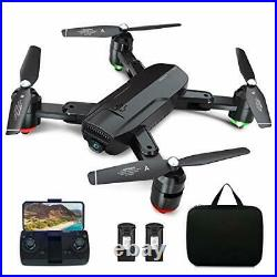 Dragon Touch GPS Drone with Camera for Adults, 1080P HD FPV Live Video with