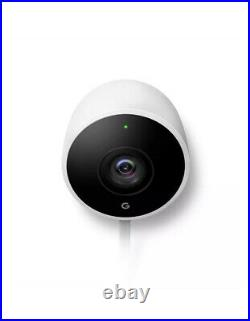 Google Nest Cam Outdoor Wi-Fi Live Video Wired Camera Brand New Factory Sealed