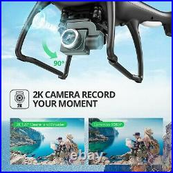 Holy Stone 2K GPS FPV Drone HS100 with HD Camera Live Video and GPS Return Home