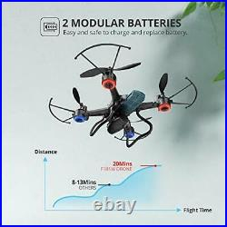 Holy Stone F181W 1080P WiFi FPV Drone with Wide-Angle HD Camera Live Video RC