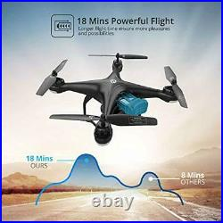 Holy Stone HS120D FPV Drone with Camera for Adults 2K HD Live Video and GPS