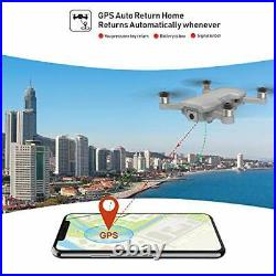 Holy Stone HS510 GPS Drone with 4K UHD Camera 5G FPV Live Video for Adults and