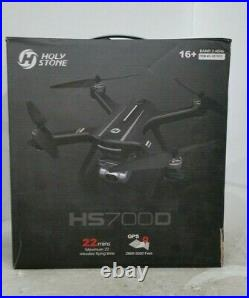 Holy Stone HS700D FPV Drone with 4K FHD Camera Live Video and GPS Return Home