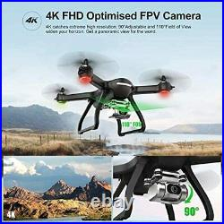 Holy Stone HS700D FPV Drone with 4K UHD Camera Live Video and Brushless Motor, R