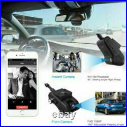 JIMIIoT JC400P 4G Car Dual Camera DVR With Wi-fi Live Video GPS tracking Remote