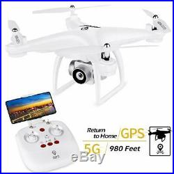 JJRC JJPRO GPS Drone, H68G RC Drone with 720P HD Camera Live Video 120°