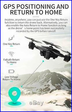 Jjrc H78G Fpv Drone With 1080P Hd Wi-Fi Camera Live Video And Gps Return Home, R