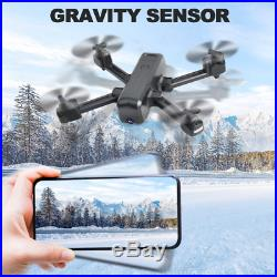 LENDGO Drones with HD 4K Camera for Adults, Dual Camera WIFI FPV Live Video Me RC