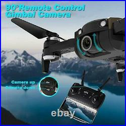 Le-idea GPS Drones with Camera 4K for Adults, IDEA21 5G WiFi FPV Live Video with