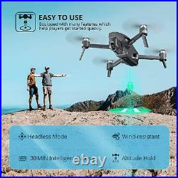 M1 GPS Drone 4K Camera FHD FPV Live Video Quadcopter Brushless Motor Follow Me