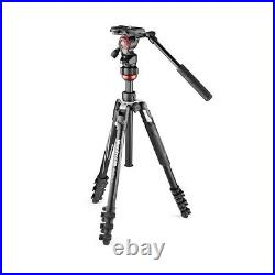 Manfrotto Befree Live Video Travel Tripod Kit with Lever Fluid Head #MVKBFRL-LIVE