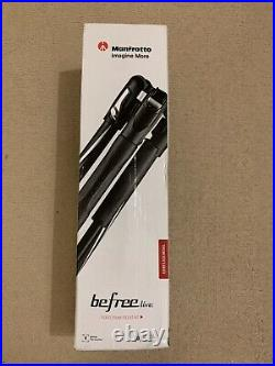 Manfrotto Befree Live With Video Camera Head And Lever Closure