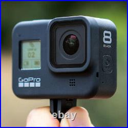 NEW GoPro HERO8 Black Live Streaming Action Camera 4K UHD Touchscreen 12MP 1080p