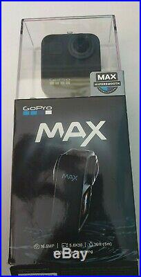 NEW GoPro MAX Waterproof 360 Degree Hypersmooth Live Stream Action Camera
