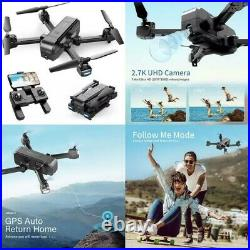 NEW Snaptain Sp510 2.7K Gps Foldable Drone With Camera For S Uhd Live Video