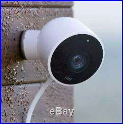 Nest Cam Security Camera Outdoor 2 Pack Hardware Remote Wi-Fi 24/7 Live Video