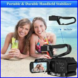 New 4k 48mp Digital Video Camera Ultra Hd Live Streaming 30x Zoom Touch Screen