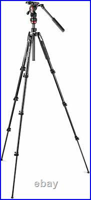 New Manfrotto Befree Live (with Lever) Video / Camera Tripod and Case