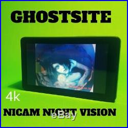 Night Vision Action Cam Paranormal Ghost Hunting 4k TOUCH SCREEN Facebook Live
