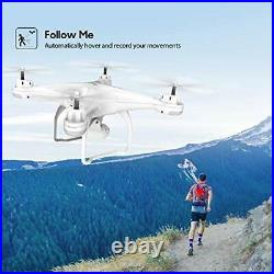 Potensic T25 GPS Drone, FPV RC Drone with Camera 1080P HD WiFi Live Video, Auto