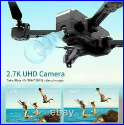 SNAPTAIN SP510 Foldable GPS FPV Drone with 2.7K Camera for s UHD Live Video RC