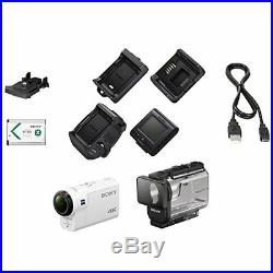 SONY Digital 4K Camera Recorder Action Cam FDR-X3000R Live View Remote Kit