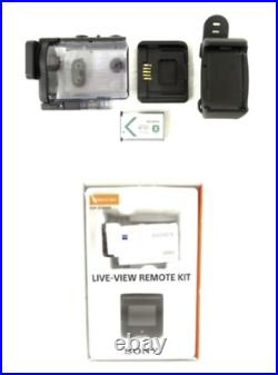 SONY FDR-X3000R 4K Video Camera Recorder Live view remote control kit from JAPAN