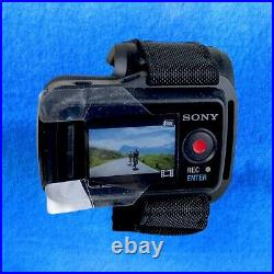 SONY HDR-AS30V Action Cam Camera with Live View Remote RM-LVR1 Case Instructions