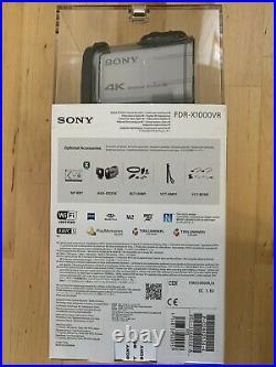 Sony FDR-X1000VR Action Cam With Live View Remote And Waterproof Case