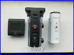 Sony FDR-X3000 4K Action Camera with Live View Remote and Waterproof Case
