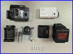 Sony FDR-X3000R 4K Action Cam with Live-View Remote Kit White