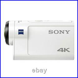 Sony FDR-X3000R 4K Action Cam with Live-View Remote Kit White new sealed