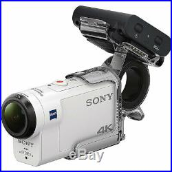 Sony FDR-X3000R inkl. Fingergriff und Live-View Remote Action Cam Travel Kit