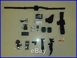 Sony HDR-AZ1 Exmor R 11.9MP & Live-View Remote RM-LVR1 & Accessories