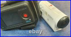 Sony HDR AZ1 Mini Action Cam with Sony RM-LVR2 Live View Remote