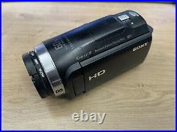 Sony Handycam HDR-CX625 Camcorder 1080p Great For Live Streaming. With Extras