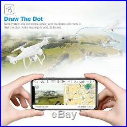 T35 GPS Drone, RC Quadcopter with 1080P Camera FPV Live Video, Dual GPS Return Ho