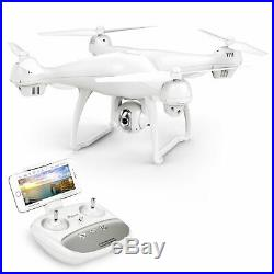 White Drone With 1080P HD Camera T35 GPS FPV Live Video GPS Return Home WIFI Cam