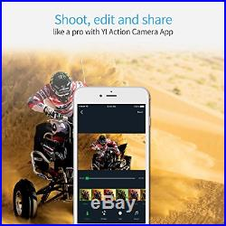 YI 4K Action and Sports Camera, 4K/30fps Video 12MP Raw Image with EIS, Live